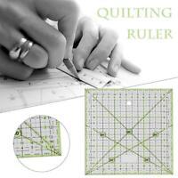 Transparente Quilten Nähen Patchwork Lineal Schneidwerkzeuge Craft Tailor DIY