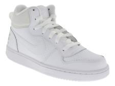 Scarpe Nike Court Borough donna bianco in pelle da ginnastica con lacci