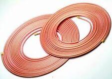 *CHEAP* 10mm Copper Microbore Tube Various Lengths 1 Mtr - 10 Mtr GAS WATER OIL