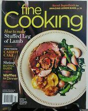 Fine Cooking April May 2016 Stuffed Leg of Lamb Carrot Cake FREE SHIPPING sb