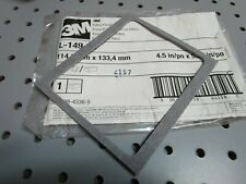 "(1) 3M L-149 Fiber Gasket 70070843365 L-149-10 4.5"" by 5.25"" New Old Stock"
