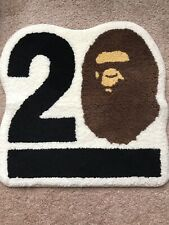 A bathing ape Bape 20th anniversary rug mat Very rare KAWS fragment Supreme BXH