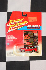 Johnny Lightning Diecast Ad Rods Red 1955 Chevy Nomad