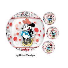 Party Supplies Boys Girls Birthday Disney Minnie Mouse Orbz Foil Balloon