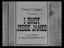 I SHOT JESSE JAMES, 1949, Preston Foster, Samuel Fuller Western: Region 2 DVD-R