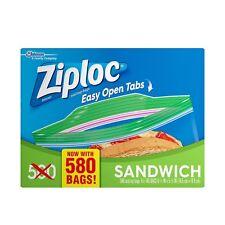 Ziploc Sandwich Bag (580 ct) Free Shipping
