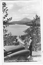 Kenai Highway & Lake Seward Anchorage Alaska c950 Real Photo Postcard RPPC