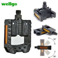 WELLGO F178 Bicycle Pedals Sealed Folding Bearing Plastic MTB BMX Road Bike 9/16
