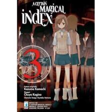 Kazuma Kamachi - Chuya Kogino A CERTAIN MAGICAL INDEX n. 3 Star Comics