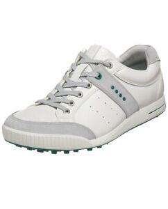 ECCO Men's Golf Street Retro Shoe US Size 11-11.5 White New!