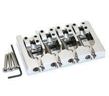 Hipshot Black/Brass A Series Bass Bridge String Thru Fender P/Jazz® 5A400B-FM2