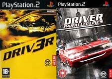 driver 3 & driver parallel lines     ps2 pal format