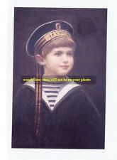 mm226 - young Czarevitch  Alexei Romanov in sailor suit - art - Royalty photo