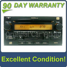 Toyota Radio JBL Premium Sound System Tape Cassette CD Player 86120-35262 16847