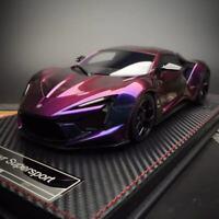 New 1/18 Frontiart W Motor Fenyr Supersport after Lykan Car model Chameleon