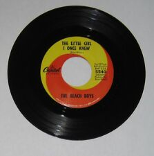 Beach Boys - 45 - The Little Girl I Once Knew / There's No Other Like My Baby VG