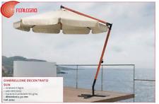 PARASOL DECENTRALIZED ROUND STRUCTURE WOOD GARDEN FURNITURE OUTER ART.95195