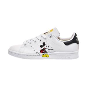Adidas x Mickey Mouse Stan Smith Lifestyle Shoes White GW2250 Size 4-12