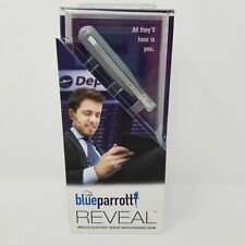Vxi Blue Parrot Reveal Wireless Bluetooth Headset w/ Extendable Boom Silver- New