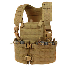Condor CS COYOTE Modular MOLLE PALS Chest Rig w/ Magazine & Hydration Pouch