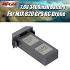 MJX B20 Battery 7.6V 3400mAh Li-po Battery For MJX B20 GPS Brushless RC Drone