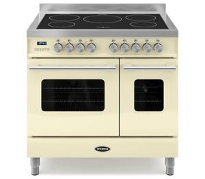 Britannia Delphi RC-9TI-DE-CR 90cm twin Range Cooker Induction-Cream (544440751)
