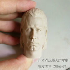 1/6 scale Vincent Vega Head Sculpt unpainted Pulp Fiction John Travolta