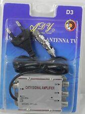 AMPLIFICADOR DE SEÑAL DE TELEVISION- 3 SALIDAS-TV SIGNAL AMPLIFIER.TDT-ANTENA-TV