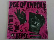"""Age of chance 7"""" bible of the beats 1985 riot 002 sleeve vg+ vinyl n/m  / ex"""