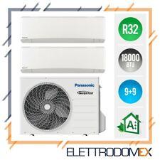 Climatizzatore DualSplit Panasonic Etherea Wi-Fi R32 (9+9) - 18000 BTU
