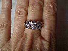 AA Tanzanite ring, 2.4 carats, size N/O, in 2.45 grams of 9K Yellow Gold