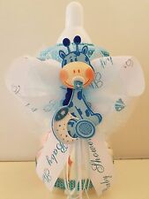 "Baby Shower Giraffe Centerpiece Bottle Large 12"" Piggy Bank Table Decorations"