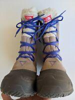 THE NORTH FACE Winter Snow Boots  Size 6 Heat Seeker Waterproof EUC