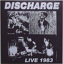 Discharge - Live 1983 LP Broken Bones Varukers Stoke-On-Trent Crust UK 82 Punk