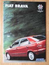 FIAT Brava range orig 1996 UK Mkt sales brochure