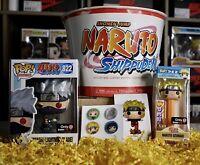 Funko Pop Naruto: KAKASHI LIGHTNING BLADE #822 GameStop Ex. Ramen Box NEW SEALED