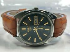 Vintage  Seiko  Automatic Movement Day Date Analog Dial Wrist Watch  N108