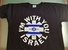 "Red Hot Chili Peppers RARE ""I'm With You"" Tel Aviv 2012 t-shirt"