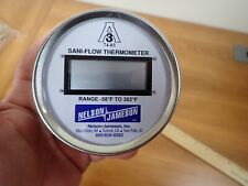 """New listing Sanitary Digital Thermometer, Dt-3/4Npt-Bk-Df-1/4Sp9.5, 3/4"""" Npt Back Mount With"""