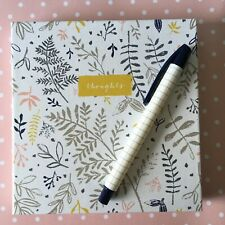 Beautiful hardcover Journal Notebook Planner 365 pages & pen with ribbon undated