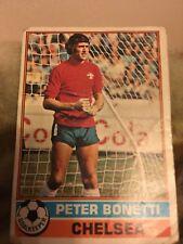 Topps 1977 Football Card Peter Bonetti Chelsea Goal Keeper