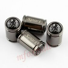 4X Air Tire Tyre Valve Dust Car Wheel Rim Cap Cover For Peugeot Parts Titanium