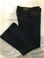 (*-*) LEVI'S * Womens BOLD CURVE CLASSIC BOOT Blue Jeans / Denim * Size 33 / 16