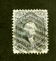 US Stamps # 78a 24c Washington XF USED Neat Cancel Gem Scott Value $425.00