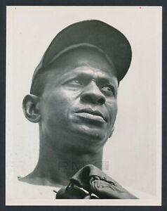 1960 Satchel Paige, Spectacular Photo of Negro League Baseball Legend