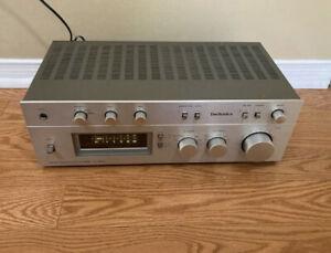 Vintage Technics SU-8055 amplifier