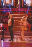 STRICTLY COME DANCING: OKSANA PLATERO SIGNED 6x4 ACTION PHOTO+COA