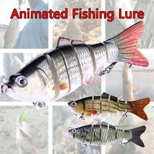 3.9'' inch Live bait Swimming Robotic Segment Fishing Lure Animated Swimbait