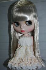 "Takara 12"" Nude Neo Blythe Nude Doll From Factory Bangs Gray Blonde Hair BL057"