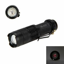 WindFire Mini IR Lamp Zoomable 5W 850nm LED Infrared Flashlight Night Vision
